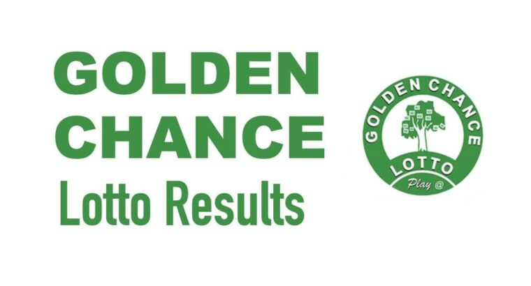 Golden Chance Lottery; Games, Results, Predictions & More