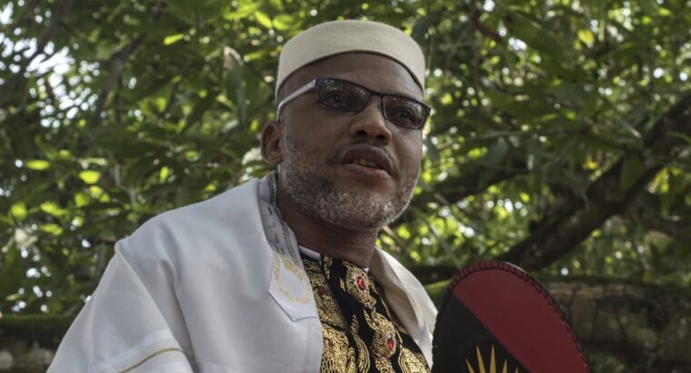 Nnamdi Kanu: Only you can stop Buhari govt from harming IPOB leader – Wife writes UK govt
