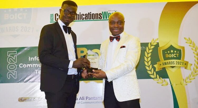CWG wins Enterprise Solutions Providers of the Year 2021 at BoICT Awards