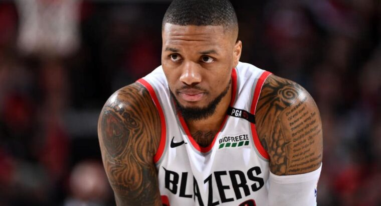 Damian Lillard Biography; Net Worth, Salary, Wife, Tattoos, Stats, Shoes, Contact, Height In Feet