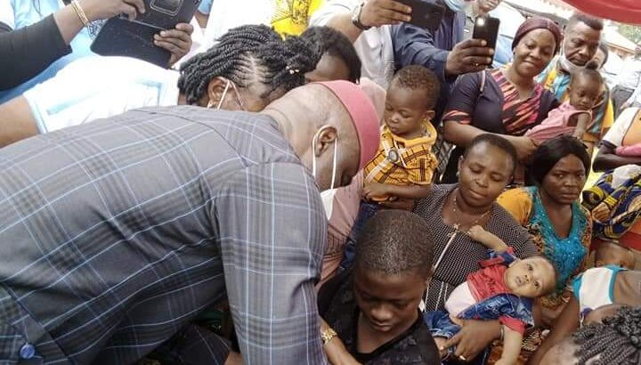 Abia: Ikpeazu flags 2nd round of outbreak response for polio vaccination campaign