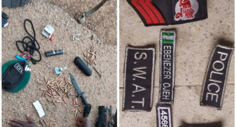 Troops arrest 'Nigeria Police SWAT officer' with bullets, grenade in Borno
