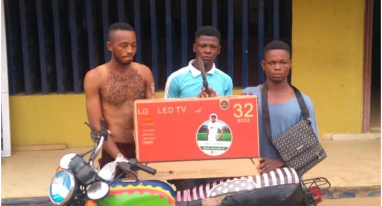 Sales boy arrested for planning his employer's robbery in Ogun