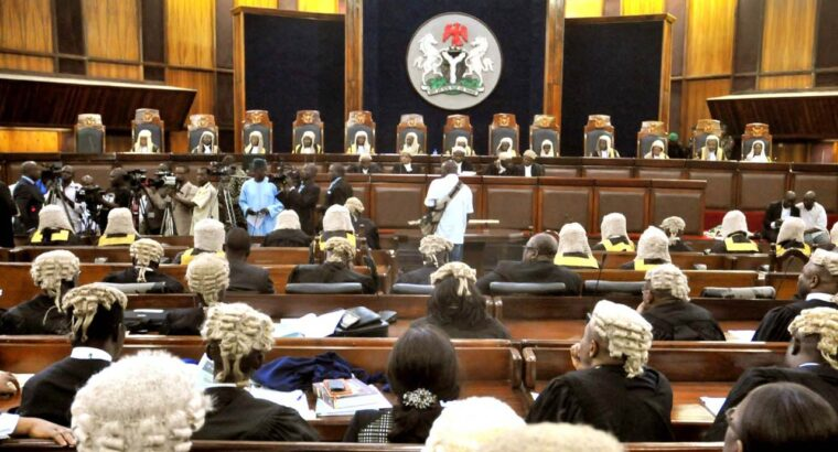 BREAKING: Supreme Court delivers landmark verdict on Ondo Governorship tussle 12 noon today