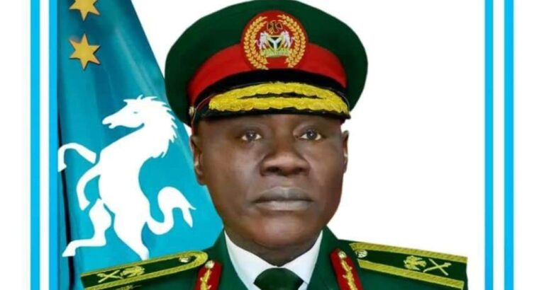 COAS begs royal father for support in tackling insecurity