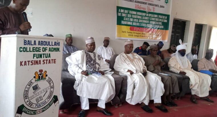 Katsina govt authorizes traditional rulers to deal with security challenges