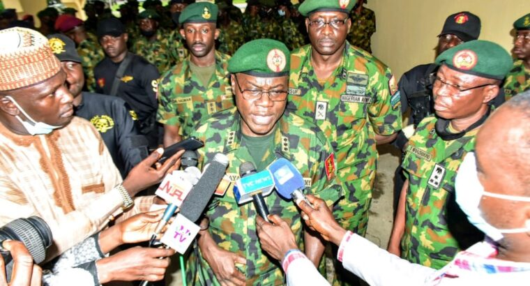 Insecurity: COAS orders troops to intensify operations against bandits