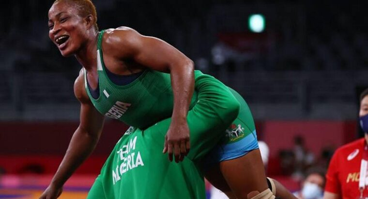 Tokyo Olympics: Blessing Oborududu chases Silver, Gold after qualification for final in wrestling