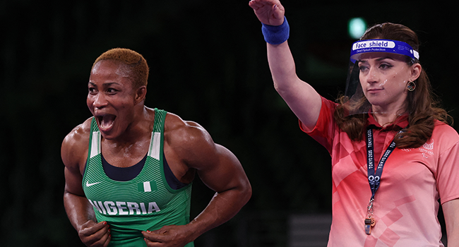 Blessing Oborududu Wins Olympic's Medal For Nigeria