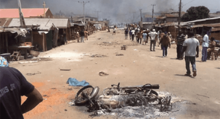 Imposition of curfew: One injured as Oro worshippers clash with Muslims in Ogun