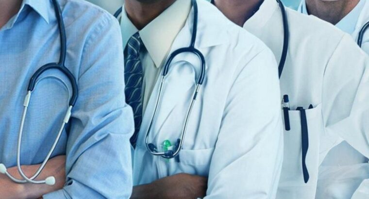 Resident doctors protest Lagos govt's removal from service scheme