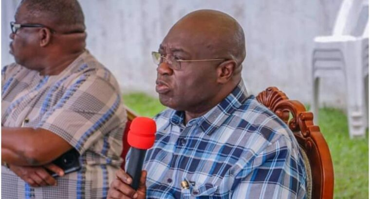 Ikpeazu lists security as topmost priority, empowers LG Chairmen, stakeholders to take charge