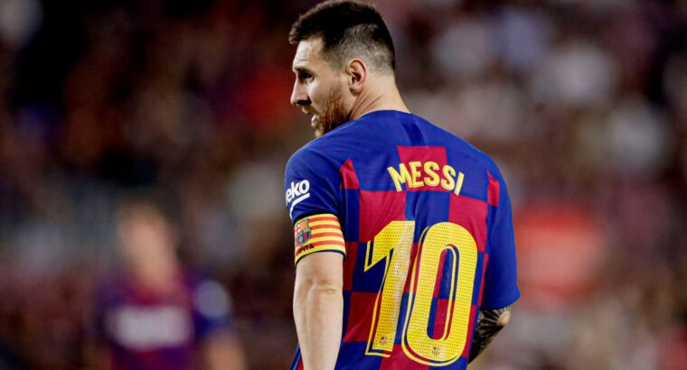 Messi stays away from training after Barcelona bans him