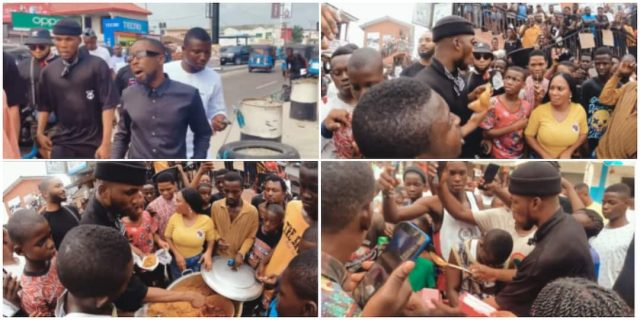 Victor AD Celebrates His Birthday With The Poor(Video)